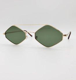Deb Sunglasses, Wire Rimmed