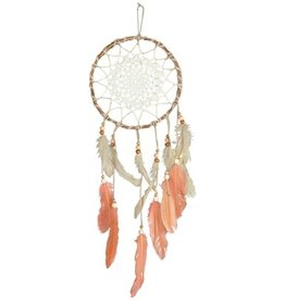 Macrame Feather Dream Catcher, Sunset