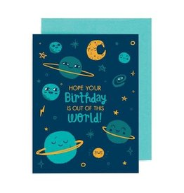 "Allison Cole ""Out of This World"" Birthday Greeting Card - Allison Cole"
