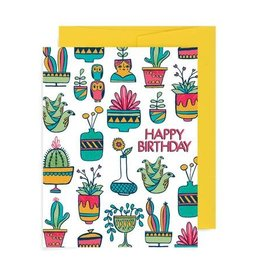 "Allison Cole ""Succulent"" Birthday Greeting Card - Allison Cole"