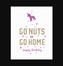 """""""Go Nuts"""" Greeting Card - Farewell Paperie"""