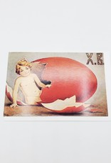 """""""Paskha"""" Russian Easter Vintage  Greeting Card 4"""