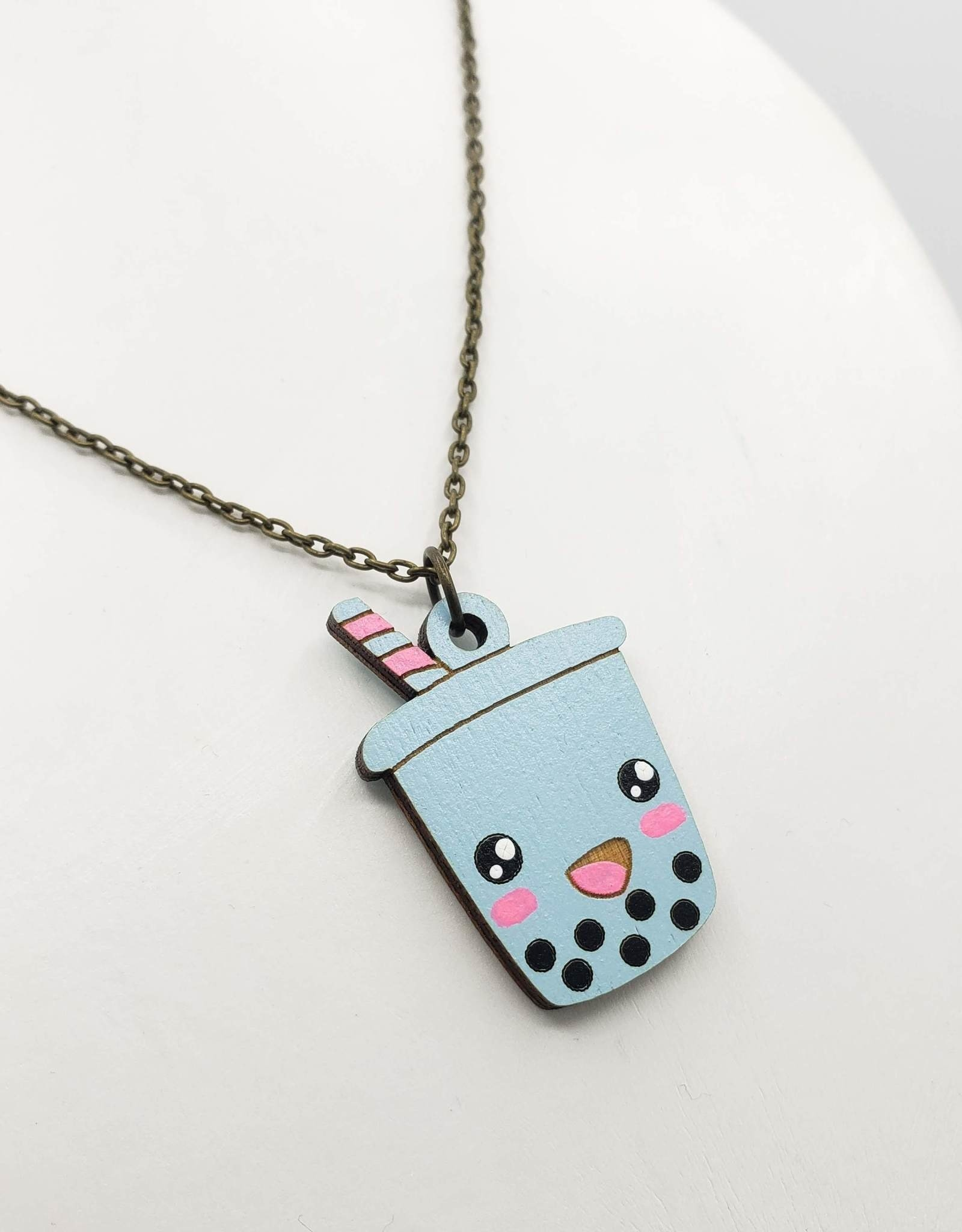Bubble Tea Necklace - Unpossible Cuts