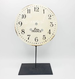Horology Iron Stand Clock Face