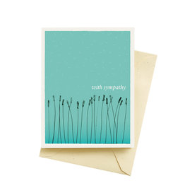 Seltzer With Sympathy Greeting Card - Seltzer