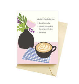 Seltzer To Do List Mother's Day Greeting Card - Seltzer