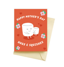 Seltzer Hugs and Squishes Mother's Day Greeting Card - Seltzer