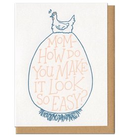 Look so Easy Greeting Card - Frog and Toad Press