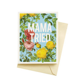 Seltzer Mama Tried Mother's DayGreeting Card - Seltzer