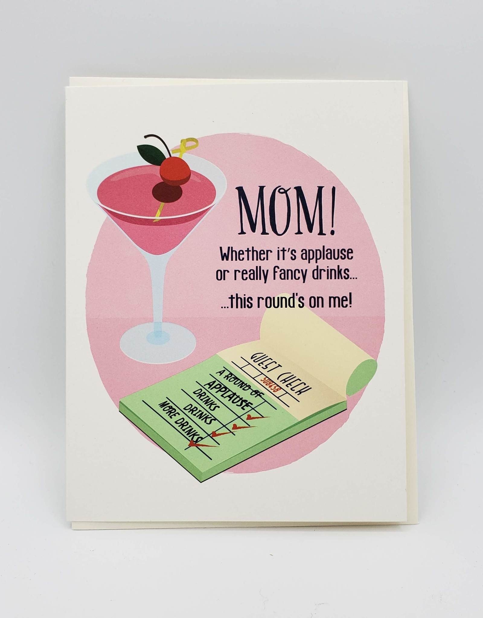 Seltzer Rounds Mother's Day Greeting Card - Seltzer