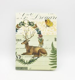 Cavallini Papers Flora & Fauna Notebook, Small - Cavallini