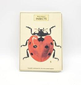 Cavallini Papers Ladybug Notebook, Small - Cavallini