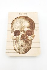 Cavallini Papers Skull Notebook, Mini - Cavallini