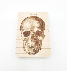 Cavallini Papers Skull Notebook, Mini - Cavallini