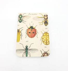 Cavallini Papers Insects Notebook, Mini - Cavallini
