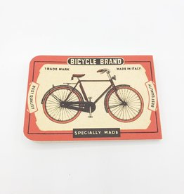 Cavallini Papers Bicycle Notebook, Mini - Cavallini