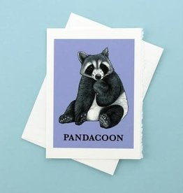 Pandacoon Greeting Card - What If Creations