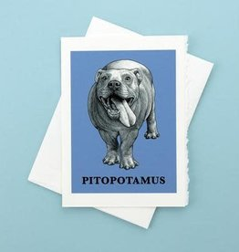 Pitopotamous Greeting Card - What If Creations