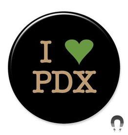 Badgebomb I Heart PDX Big Magnet