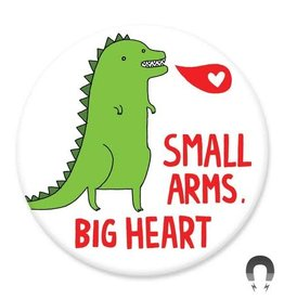 Badgebomb Small Arms Big Heart Big Magnet