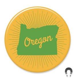 Badgebomb Oregon Big Magnet