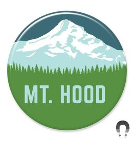 Badgebomb Mt. Hood Big Magnet
