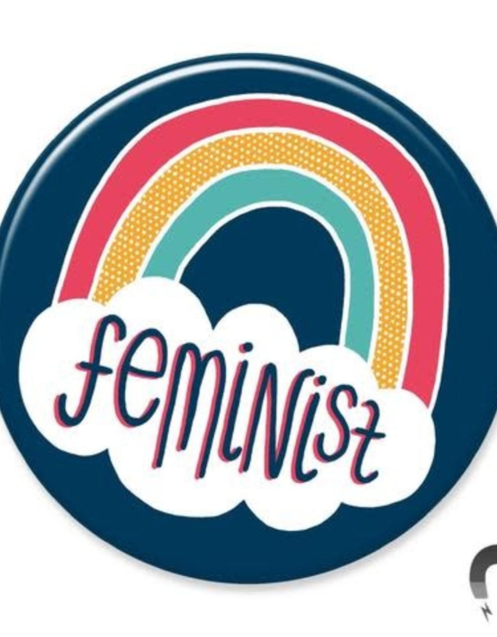 Badgebomb Feminist Big Magnet