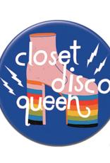 Badgebomb Closet Disco Queen Big Magnet
