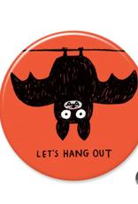 Badgebomb Hang Out Bat Big Magnet