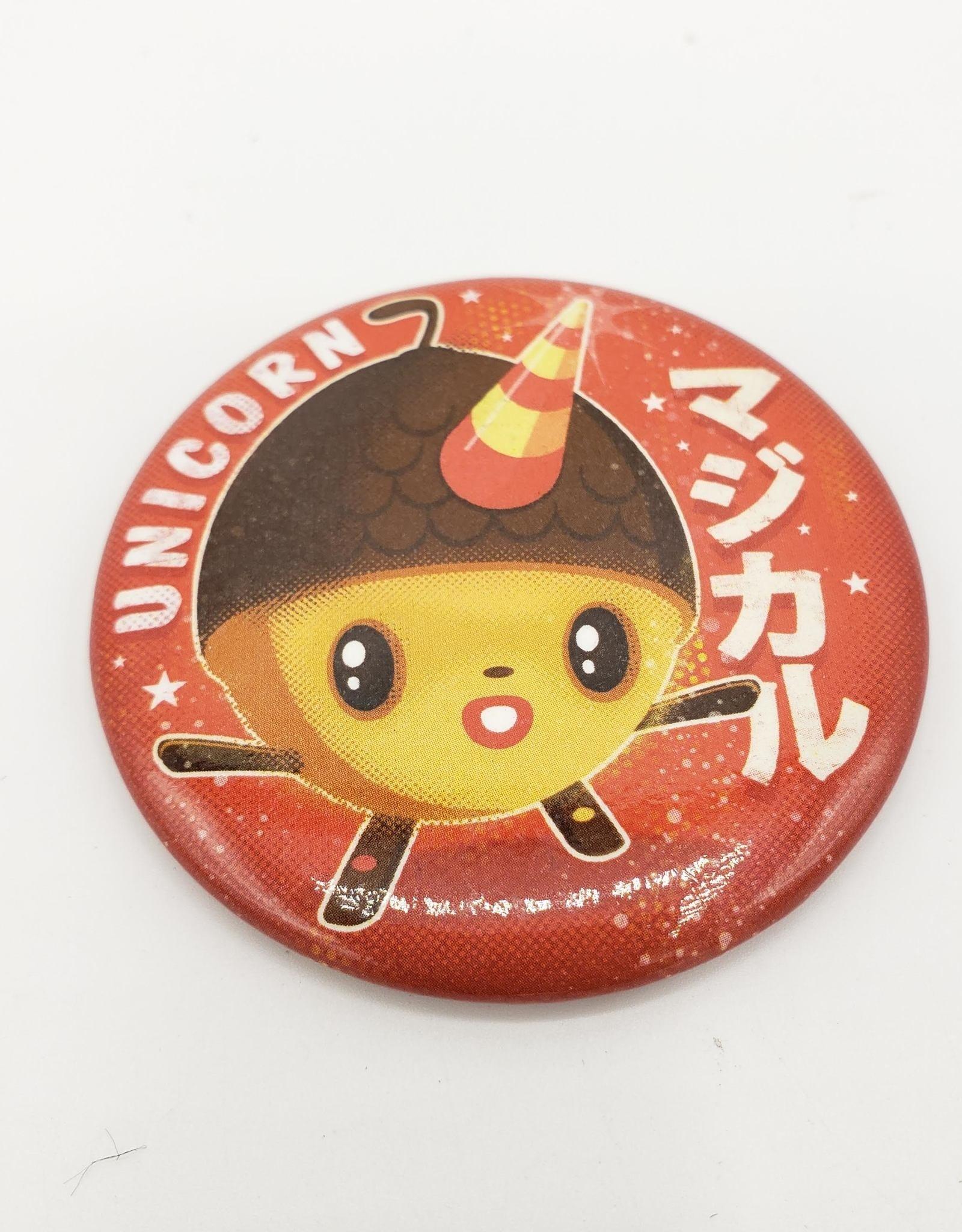 Badgebomb Acorn Unicorn Big Magnet
