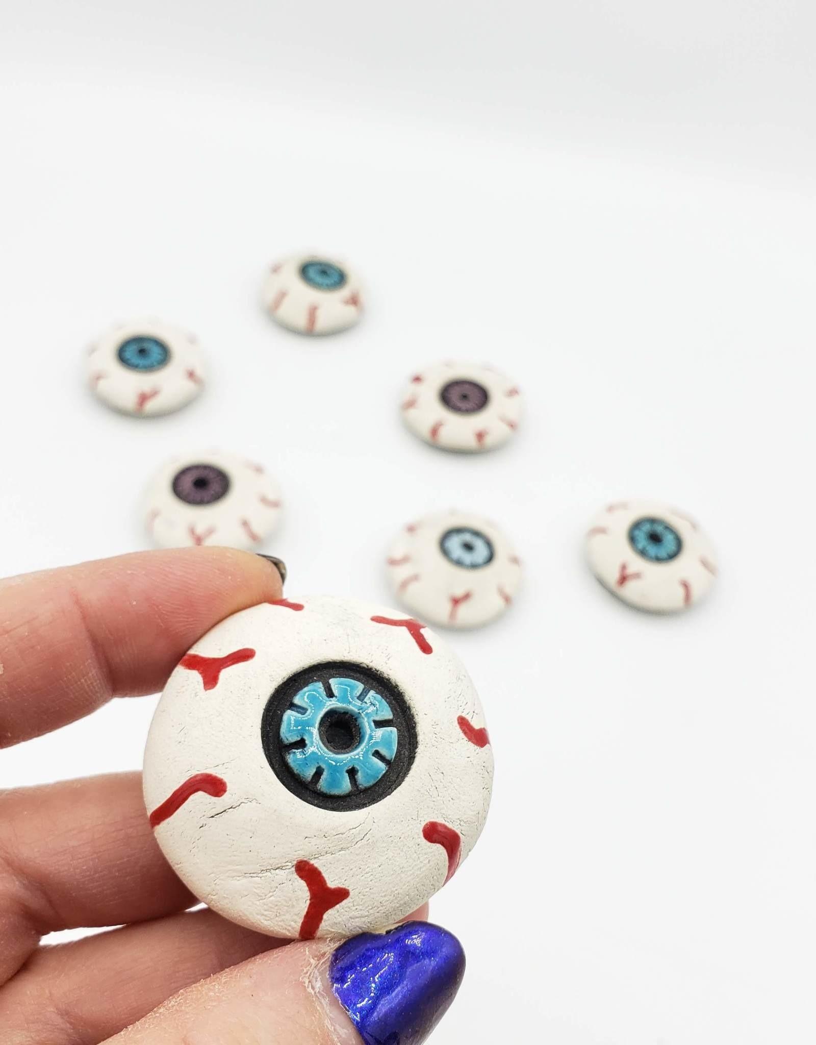 Eyeball Magnet by KattSplatt!