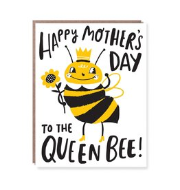 Happy Mother's Day to the Queen Bee Greeting card - Hello Lucky!