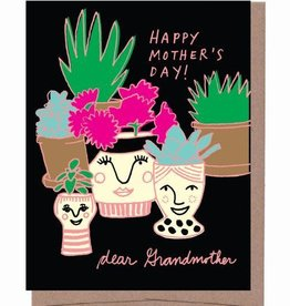 Happy Mother's Day Dear Grandmother Greeting Card - La Familia Green