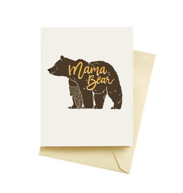 Seltzer Mama Bear Mother's Day Greeting Card - Seltzer