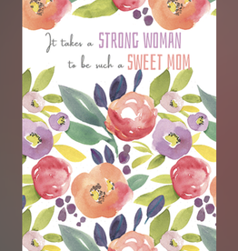 Strong Mom Happy Mother's Day Greeting Card - J&M Martinez