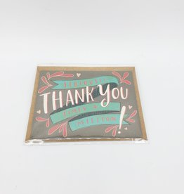 Emily McDowell Seriously Thank You Mini Greeting Card  - Emily McDowell
