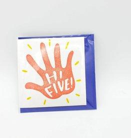 Hi Five! Mini Card - Ladyfingers