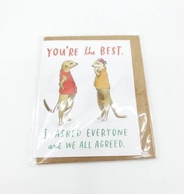 Emily McDowell You're the Best Mini Greeting Card  - Emily McDowell