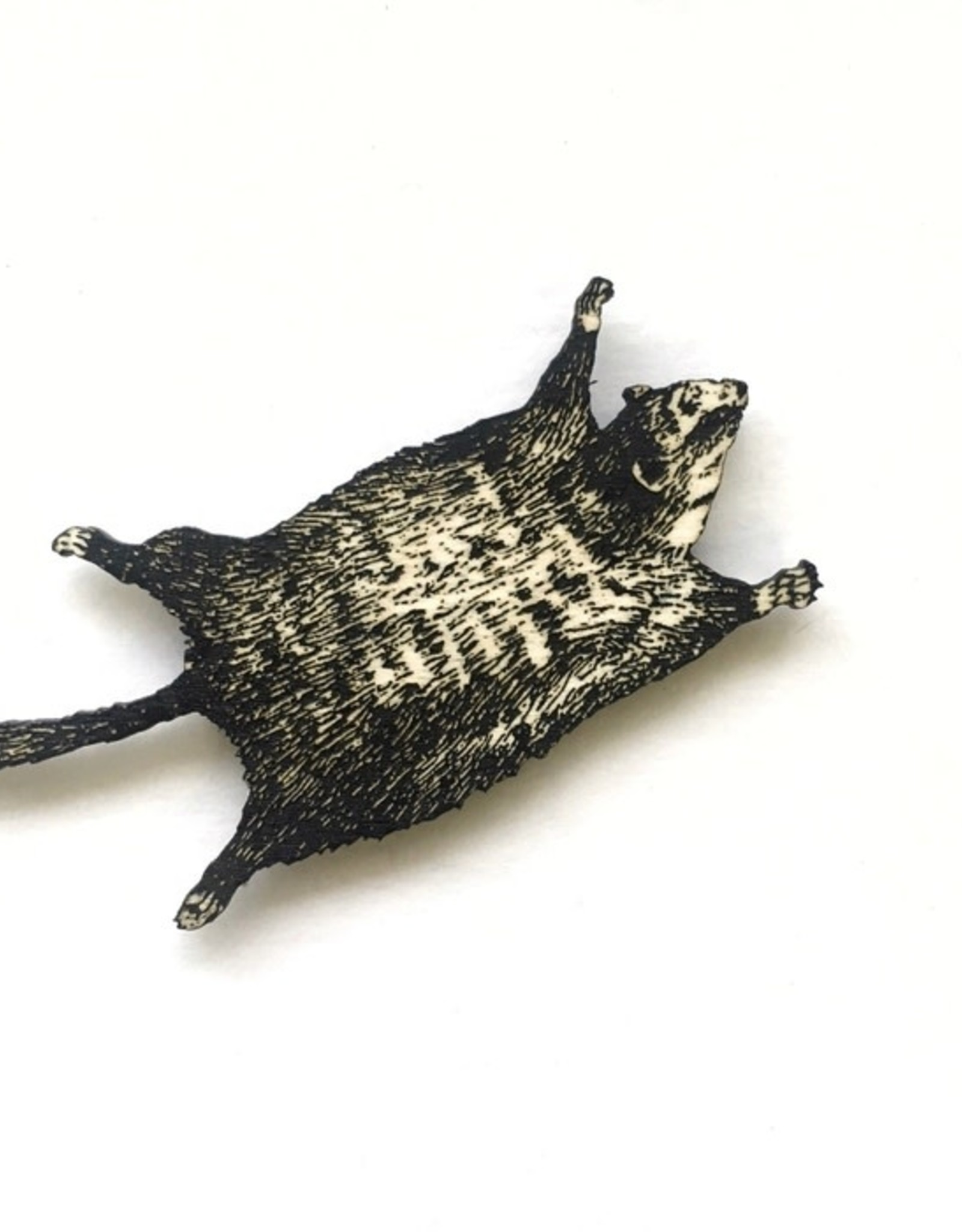 Flying Squirrel Magnet - Toad Hill Farm