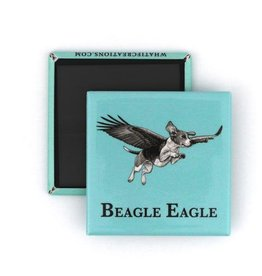 Beagle Eagle - What If Magnets