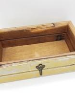 Handmade Wood Box, Recycled Materials
