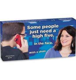 Blue Q High Five in the Face Gum Pack