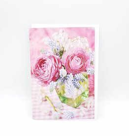 Redux Pink Floral Bouquet Mother's Day Greeting Card