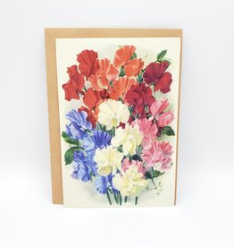 Redux Floral Illustration Mother's Day Greeting Card