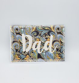 Redux Fancy Paisley Father's Day Greeting Card