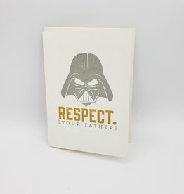 Respect Your Father's Day Greeting Card