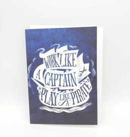Play Like a Pirate Father's Day Greeting Card