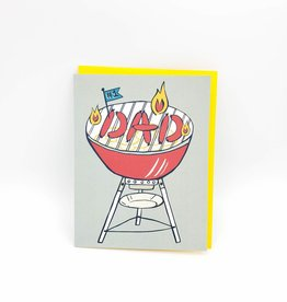 Allison Cole BBQ Dad Father's Day Greeting Card - Allison Cole