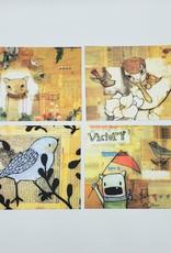 Trish Grantham Postcard Pack of 4 - Trish Grantham / Papermilk