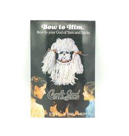 Sean Tejaratchi Craft God Macrame Poodle Postcard, by Sean Tejaratchi